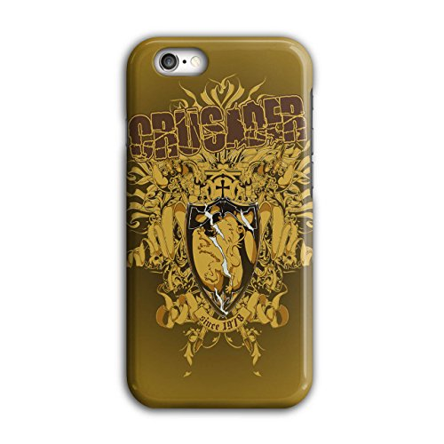 Kreuzritter Schild Mode Krieger iPhone 6 / 6S Hülle | Wellcoda (Weibliche Krieger Kostüme)
