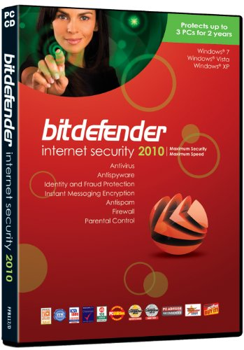 BitDefender Internet Security 2010, 2 Year, 3 User (PC)