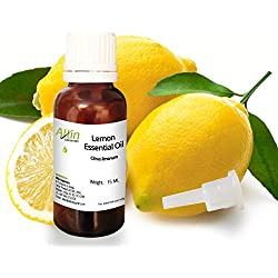 Allin Exporters Steam Distilled Lemon Essential Oil 15 Ml 100% Pure, Natural & Therapeutic Grade Enriched In Vitamin C & Natural Antioxidants