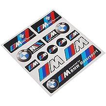 12pcs M Power Performance Color Styling Emblema nadadores Sport Auto Adhesivo para BMW