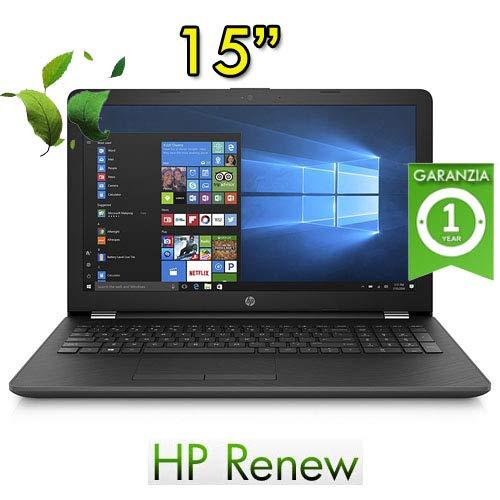 Notebook HP 15-bs000nl Pentium N3710 4GB HDD 500Gb 15.6in Windows 10 Home (Ricondizionato) )