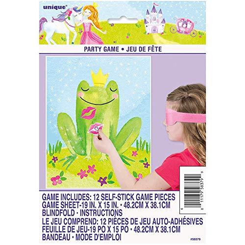 Unique Party 58379 - Juego de fiesta de princesa mágica para 12