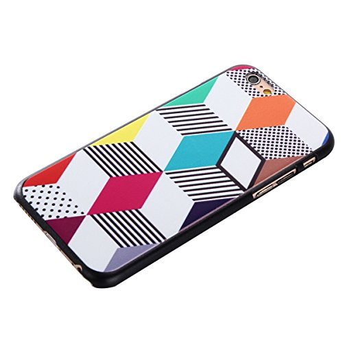 MOONCASE iPhone 6 Plus / 6S Plus Coque, Slim Fit Hardshell Back Coque Etui Case Cover pour iPhone 6 Plus / 6S Plus [météore] boîte