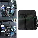 Organizador Asiento delantero Salva espacio coche bolsillos puerta almacenamiento bebidas