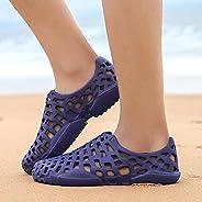 Men Summer Shoes Sandals Men'S Holes Sandals Hollow Breathable Flip Flops Croc Shoes Fashion Outdoor Beach