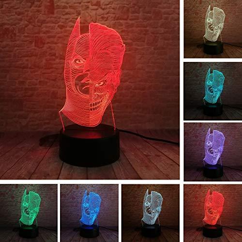 Abbildung Lampe 3D Farbwechsel Nachtlicht Illusion Letzte Tabelle Schlafzimmer Home Dekoration Geschenk