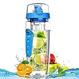 Best Bouteilles BPA eau libre - Fruit Infuser Water Bottle - Bouteille de sport Review