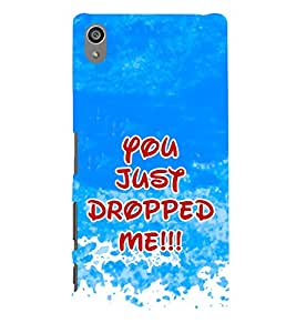 PrintVisa Flirty Quotation 3D Hard Polycarbonate Designer Back Case Cover for Sony Xperia Z5 Premium :: Sony Xperia Z5 Premium Dual