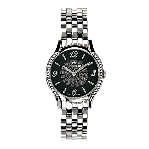 Lorenz 26615CC - Reloj analógico de Cuarzo para Mujer, Correa de Acero Color Plateado