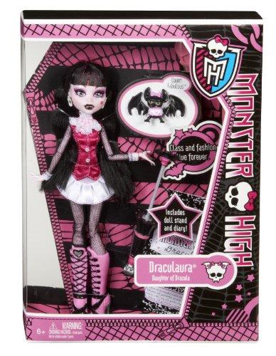 Imagen 1 de Monster High Muñeca, diseño Draculaura (Mattel BBC65)