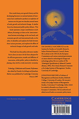 Trade, Growth and Technical Change Paperback