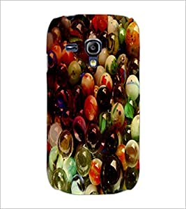 PrintDhaba Pebbles D-3438 Back Case Cover for SAMSUNG GALAXY S3 MINI (Multi-Coloured)