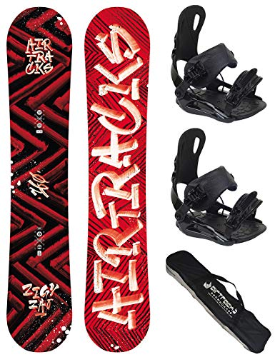 Airtracks snowboard set tavola dirty brush wide uomo 155 - attcchi star l - sb sacca
