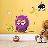 ⭐ luz nocturna bebé & niños [bebé Dodo®]–Luz dulce y Apaisante–noche Nomade–Luz nocturna LED de pared (décrochable) pila + adhesivos decorativos