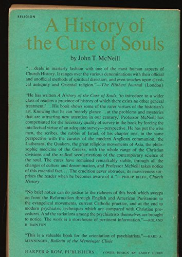 A history of the cure of souls (Harper's ministers paperback library)