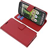 Tasche für Doro Liberto 825 Book Style rot Schutz Hülle Buch
