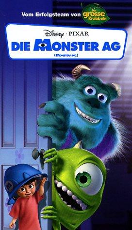 Walt Disney Die Monster AG [VHS]