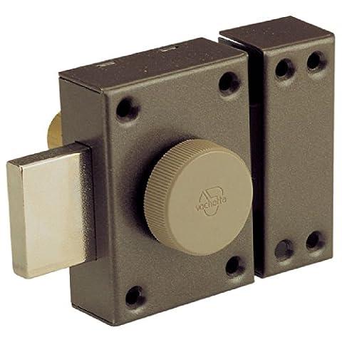 Vachette - Verrou de sureté bouton et cylindre série Eclador / 40