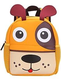 dc1c1794599a1 Mochila Infantil para niños Primaria pequeña Guardería Mochila Preescolar  para niños DE 2-5 años Dibujo de…