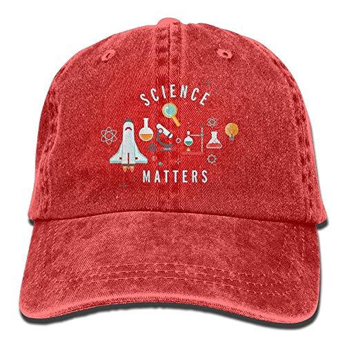 Sdltkhy Science Matters Adult Denim Dad Solid Baseball Deckel Hat Navy Fashion2 (Kangol-hüte Camo)