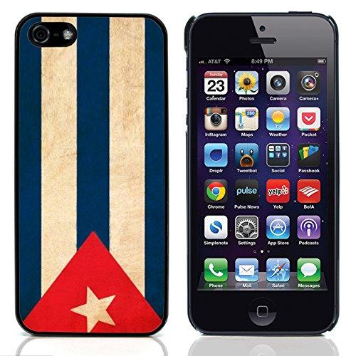 Graphic4You Vintage Uralt Flagge Von Dominikanische Republik Design Harte Hülle Case Tasche Schutzhülle für Apple iPhone 5 und 5S Kuba Kubanisch