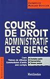 cours de droit administratif des biens