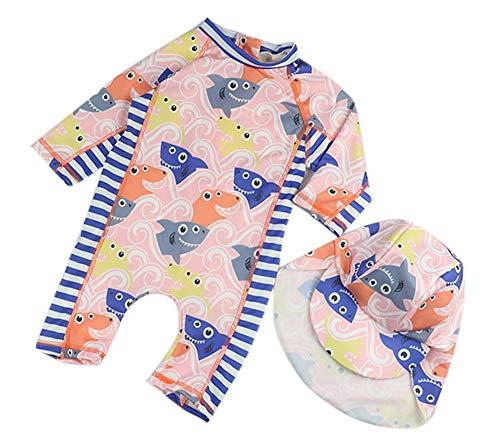 Kostüm Baby Sonnenschutz - Keephen Baby-Schwimmen-Kostüm-Karikatur-Sonnenschutz-Kleidungs-Strand-Bodysuit-Beiläufiger Sport Im Freien