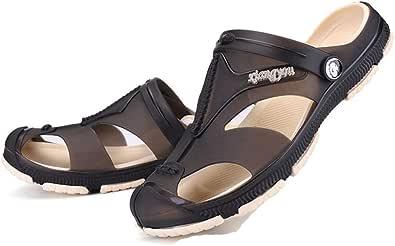 Uomini Sandali No Slip metà Avvolto Toe Gomma Morbida Piatta Suola Scarpe Casual Estate Outdoor Acqua Sport Calzature Spiaggia Sandalo