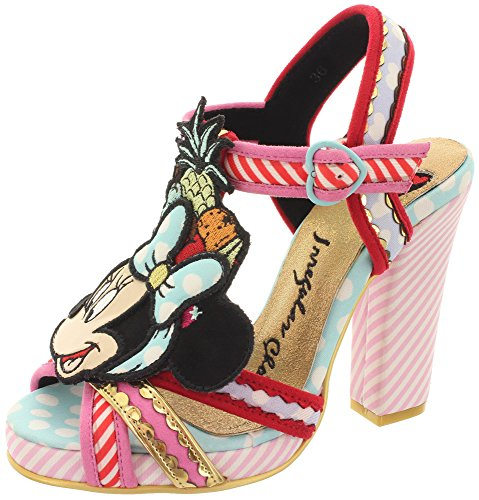 Disney Sandalette TROPICAL MINNIE 4365-02A Lilac-Red Lilac-Red