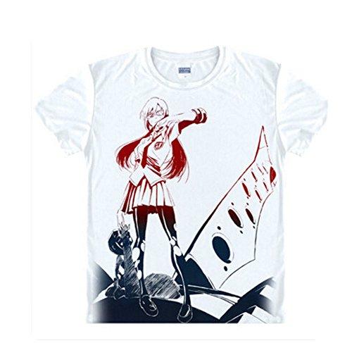 sis Evangelion Shirt Anime Kostüm Mit Gedruckter Muster S (Genesis Cosplay Kostüm)