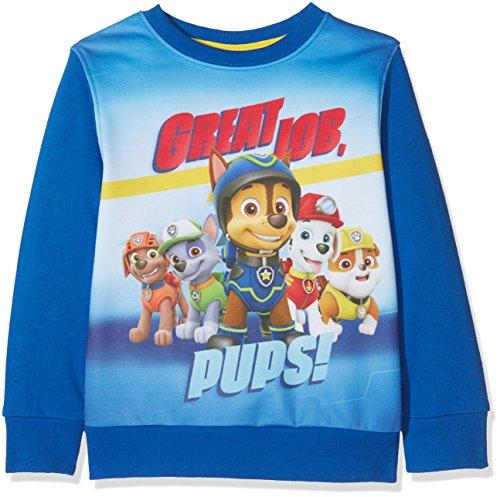FABTASTICS Jungen Sweatshirt Luke 161338, Gr. 104 (Herstellergröße: 4Y/104CM), Blau (Blue 001)