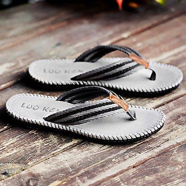 Estate modo dell'edizione del Han di svago maschio antiscivolo in gomma Pinch fredda Pantofole Pantofole per gli uomini sandali US10.5 / EU43 / UK9.5 / CN45