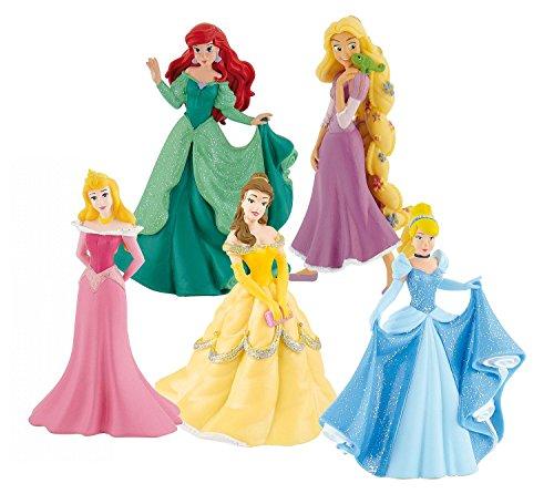 Bullyland 12048 - Spielfigurenset - Walt Disney Prinzessinnen (Kristoff Kostüm Amazon)