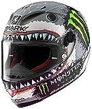 SHARK RACE-R PRO RELICA LORENZO WHITE SHARK weiss/schwarz XS