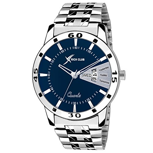 Rich Club Analogue Blue Dial Men's & Boy's Stylish Watch -RC-1999BLU