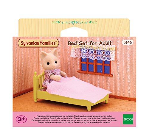 SYLVANIAN FAMILIES- Bed Set for Parure de lit pour Adulte, 5146, Multicolore