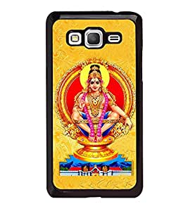 Fuson Premium 2D Back Case Cover Lord Ayappa With yellow Background Degined For Samsung Galaxy A5::Samsung Galaxy A5 A500F