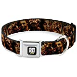 Buckle Down 22,9–38,1 cm AMC-The Walking Dead Zombie Expressions Hundehalsband