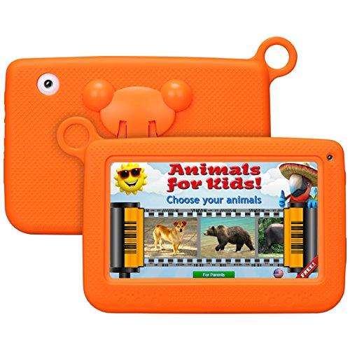Kinder tablettetactile kivors 7Pounce Tablet PC 8G ROM Android 4.4Quad Core 1.0GHz Tablet für Kinder orange Orange