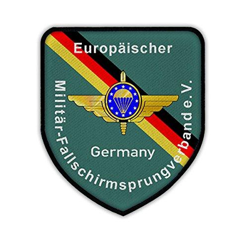 Patch / Aufnäher - Europäischer Militär - Fallschirmsprungverband eV European Paratrooper EMFV Fallschirmjäger Fallschirmspringer Bundeswehr Mitglied Abzeichen Wappen #17356