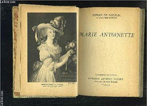 Marie-antoinette. par Nolhac Pierre de