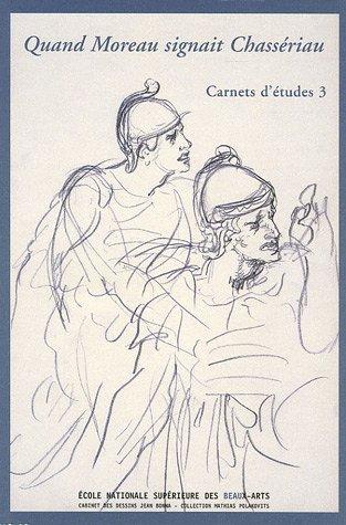 Quand Moreau signait Chassériau