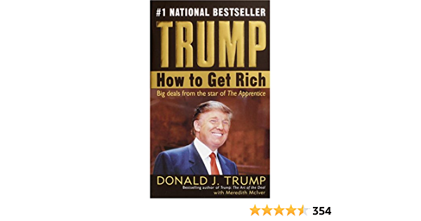Trump How To Get Rich English Edition Ebook Trump Donald J Mciver Meredith Kindle Store