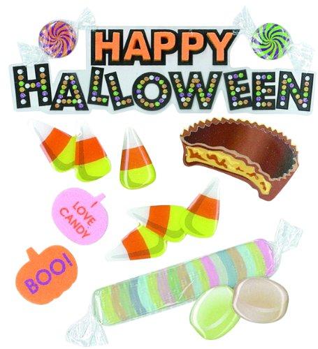 USA Produkt - Jolee ist Boutique Dimensional Stickers-Happy Halloween