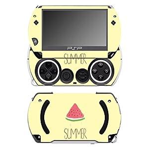 Disagu SF-14232_1072 Design Folie für Sony PSP Go – Motiv Wassermelone Sommer gelb transparent