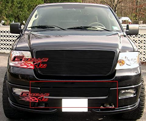APS F85351H Black Powder Coated Grille Replacement for select Ford F-150 Models by APS
