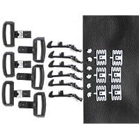 Zenner 6 Kupplungen, speziell für LGB Wagen Spur G und Spur II (64mm)