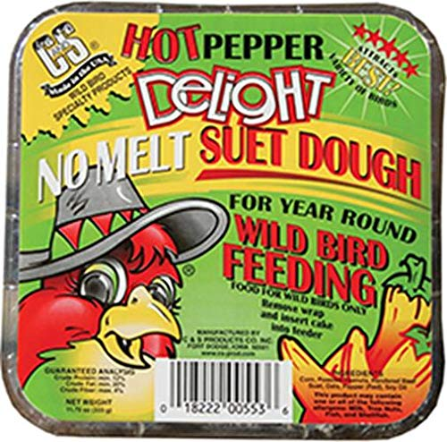 C & S Hot Pepper Delight no-melt Talg Teig 350 ml -