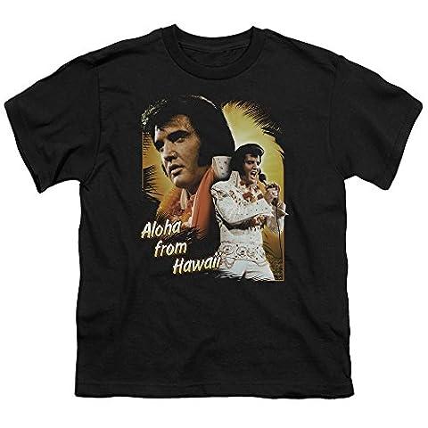 Elvis - Aloha Jugend-T-Shirt in Schwarz, X-Large (18-20), Black