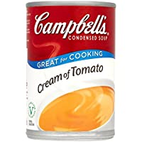 Campbell condensada sopa de crema de tomate 295g (paquete de 6 x 295g)